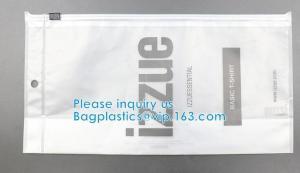 Wholesale HOOK HANDLE BAGS, RIGID HANDLE ZIPPER BAGS, SWIMWEAR BAGS Custom Hanging Hook Packaging Bag from china suppliers