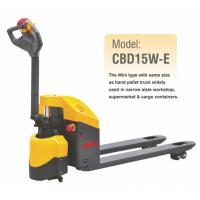 Wholesale Electric Pallet Jack With 1500KGS Lifting Capacity , CBD15W-E , Economic Model from china suppliers