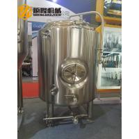 Wholesale Bright Beer Brewery Fermentation Tanks , 1000l Beer Stainless Steel Tank from china suppliers