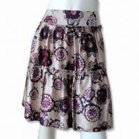 Wholesale Women's Printed Skirt from china suppliers
