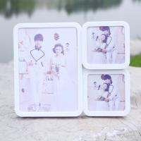 China 3 open photo frame multi photo frame for wholesale white photo frame on sale