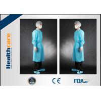 Wholesale Non Toxic Disposable Surgical Gowns Non-sterile Customized Size With Tie/Hook And Loop from china suppliers