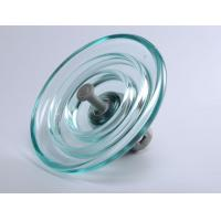 Wholesale 11KV Rated Voltage Glass Power Line Insulators High Temperature Resistance from china suppliers