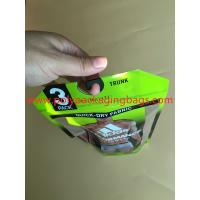 Buy cheap Antistatic Tasteful Plastic Bags For Clothes With Hook Zipper ROHS from wholesalers
