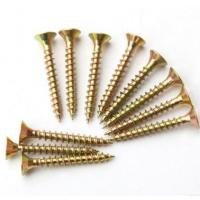 Wholesale Sus304 Sus316 Spax Solid Wood Flooring Screws For Plywood Subfloor Yellow White from china suppliers