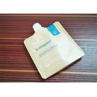 Buy cheap Cosmetic Liquid Kraft Paper Stand Up Spout Pouch Bag from wholesalers