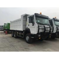 Buy cheap White Heavy Dump Truck With 336hp Euro Ii Emission Standard All Wheel Drive from wholesalers