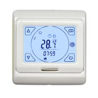 Buy cheap 7 Day Programmable Electronic Room Thermostat , Touch Screen Floor Heating from wholesalers