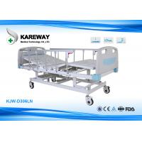 China Adjustable ICU Hospital Bed Three Function With Extensive Head Foot Section on sale