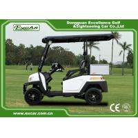 Buy cheap EEC Approved Electric Golf Carts / White Plastic 5KW AC Golf Buggy Car from wholesalers