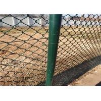 Wholesale 2''X 2'' Pvc Coated Diamond 5mm 9 Gauge Chain Link Fence from china suppliers