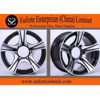 Buy cheap 5 Spokes Black Aluminum Off Road Wheels / 15 inch Off Road Wheels from wholesalers
