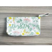 Wholesale 100% Cotton Computer Embroidery Pattern Canvas Cosmetic Pouch Organizer For Girls And Ladies from china suppliers