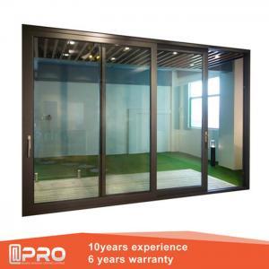 Wholesale Aluminum Sliding Glass Patio Doors , Modern Design Custom Sliding Glass Doors from china suppliers
