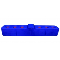 Wholesale 4m 6 Holes heavy duty PE Livestock Water Tank from china suppliers