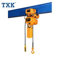 Buy cheap 380V Three Phase Single Speed Electric Chain Hoist With Imported Load Chain and from wholesalers