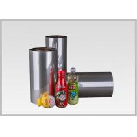 Wholesale Eco Roll Petg Shrink Film For Drink Packaging , Clear Heat Shrink Wrap Film from china suppliers