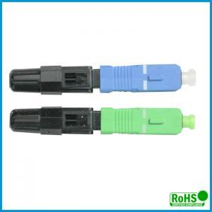 Buy cheap Waterproof Multimode Fiber Lc Connector / Simplex Fiber Optic Connector from wholesalers