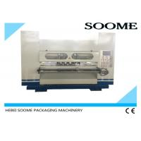 Wholesale Online NC Thin Blade Slitter Scorer Machine , Servo Type Corrugated Paper Cutting Machine from china suppliers