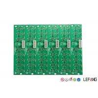 Buy cheap PCB Automotive Printed Circuit Board 4 Layers Green Solder Mask 1.6mm Thickness from wholesalers