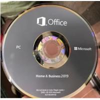 Wholesale Microsoft Office 2019 Ms Office Latest Version Home And Business HB Retail Box For Windows from china suppliers
