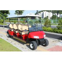 Buy cheap 4 Wheel Custom Color 6 Passenger Golf Electric Cart Powered By Lead Acid from wholesalers