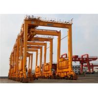 Wholesale Double Girder 	Port Gantry Crane Rubber Tyred For Unloading Containers 35T from china suppliers
