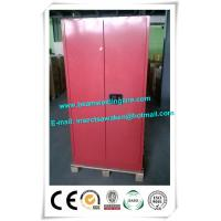 China 45 Gallon Flammable Storage Cabinets Combustible Liquid Chemical Safety Cabinets on sale