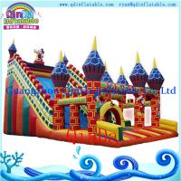 Wholesale cartoon air castle inflatables/ inflatable castle jumper/ kids toys air castle from china suppliers
