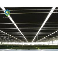 China Auto Blackout Light Deprivation Galvanized Steel Greenhouse Easy To Assemble on sale
