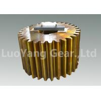 Wholesale Custom Steel CNC Machining Gears , Cylindrical Gear For Gear Reduction Box from china suppliers