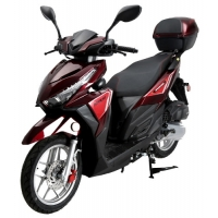 Wholesale 4 Stroke Single Cylinder Moped 150cc Motor Scooter from china suppliers