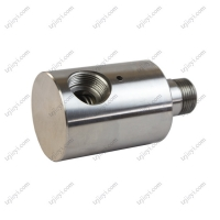 Wholesale stainless steel 304 high speed water rotary joint for high pressure car washing machine G1/2'' from china suppliers