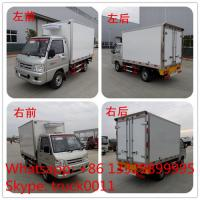Wholesale FOTON 4×2 41HP 1tons Refrigerator Truck,best quality  forland mini 1tons gasoline cold room truck for ice-cream for sale from china suppliers