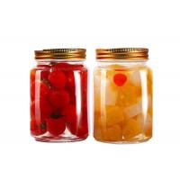 Wholesale 300ml / 500ml Food Storage Containers Sealable Glass Bottles For Seasonings / Candies from china suppliers