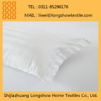 China Wholesale Decorative Waterproof Zipper 100%Cotton Pillow Case on sale