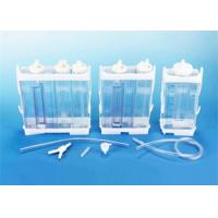 Quality Portable Vacuum Drainage System Wound Care Double chamber 2500ml Fr16 Fr18 for sale