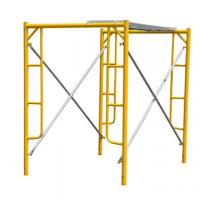 China Temporary Frame Scaffolding System Tubular Steel For Building Construction on sale