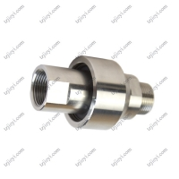 Wholesale Stainless steel high pressure swivel joint for hydraulic oil and water BSP threaded connection from china suppliers