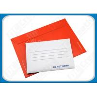 Buy cheap Custom Printed Self-seal Cardboard Envelopes, Rigid Mailing Envelopes For Photographs from wholesalers