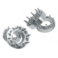 Silver Dually Car Wheel Spacers Non Hubcentric Type For Wheel Adapters
