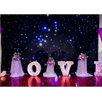 Wholesale DMX Programable RGB LED Curtain Lights For Weddings Backdrop Twinkle Starlit Type from china suppliers