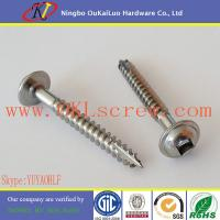 Wholesale 18-8 Stainless Steel Washer Head Square Drive Pocket Hole Screws from china suppliers