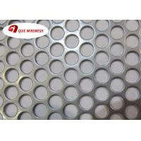 Wholesale Beauty Round Hole Shape Perforated Metal Mesh Galvanized 5-10mm Diameter from china suppliers
