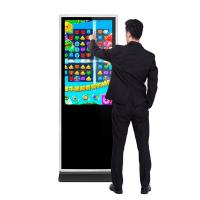 Buy cheap 43 49 55 65 inch floor stand alone hd lcd infrared touch interactive digital from wholesalers