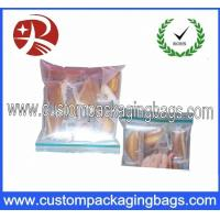 Buy cheap Waterproof PE Plastic Clear Ziplock Bag , Double Transparent Reclosable Ziplock from wholesalers