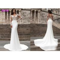 Wholesale Beach series button back Bohemian wedding dress Mermaid Turkey 2019 bridal gown from china suppliers