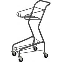 Wholesale Galvanized Supermarket Shopping Cart , Four Wheeled Basket Trolley HBE-J-7 from china suppliers