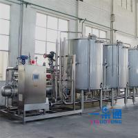 Wholesale Stainless Steel Cleaning In Place In Food Industry CE Certification , Water Cleaning Equipment from china suppliers