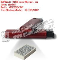 XF brand newest dark red plastic lighter IR camera for marked playing cards and